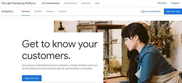 google analytics Custom Reporting Tool