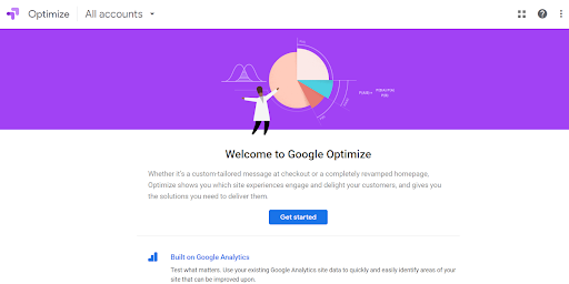 Google Optimize Screenshot Monetize Traffic