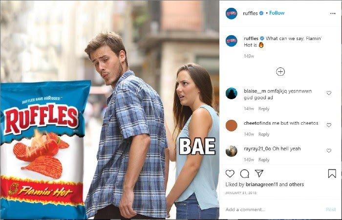 Ruffles Marketing Memes