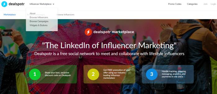 Swaypay dealspotr influencer marketing for ecommcerce