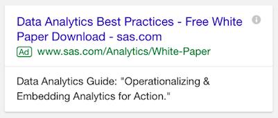 data analytics mobile ad