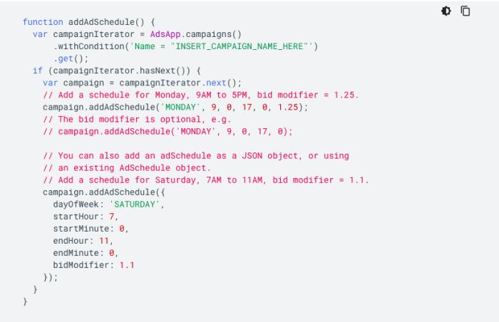 ppc automation google script