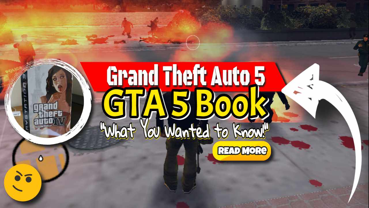 """Feaured Image Text: """"GTA 5 Book""""."""