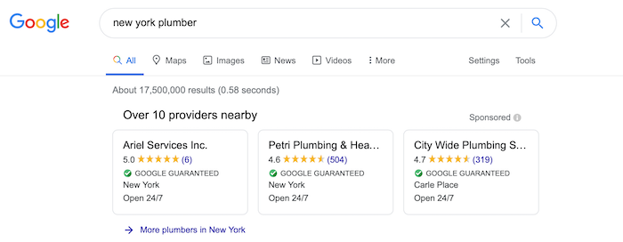 Local Services Ads Listings Lead Management Google Ads