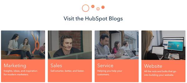 HubSpot Blog Category example