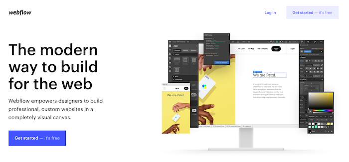 webflow bootstrapped company tool