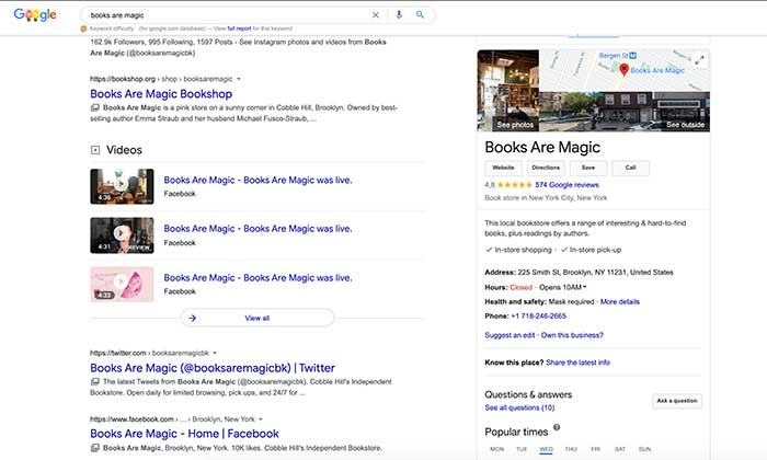 businesses on google plus