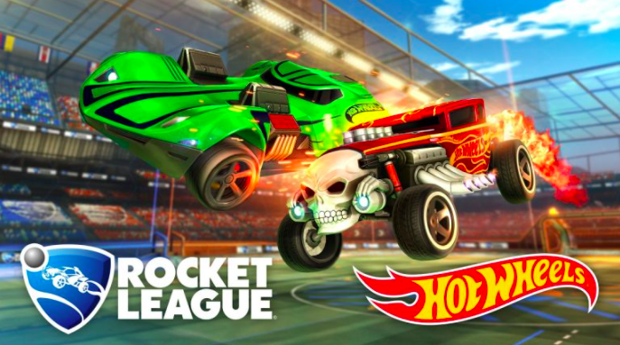 games as a service hotwheel and rocket league ad placement