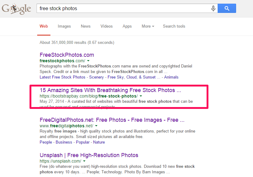 advanced SEO techniques find free impages