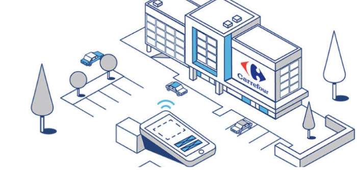 Carrfour installed beacons in their stores  to much success