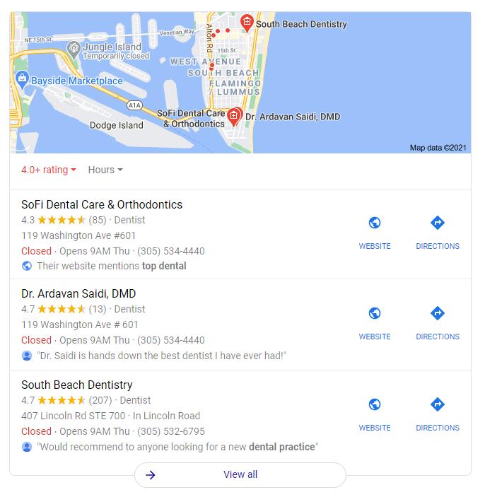 Dental Marketing - Localize Your Ads