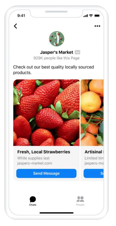 messenger inbox ads
