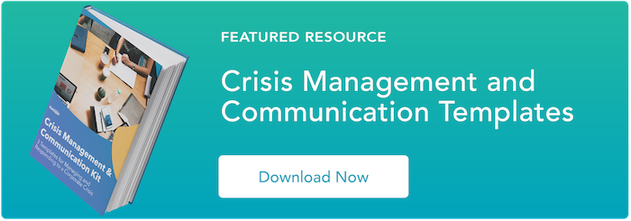 crisis communication