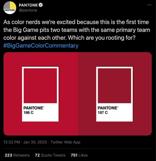 guerrilla marketing pantone example