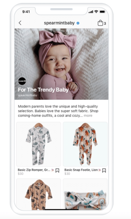 Spearmint Baby curated collection