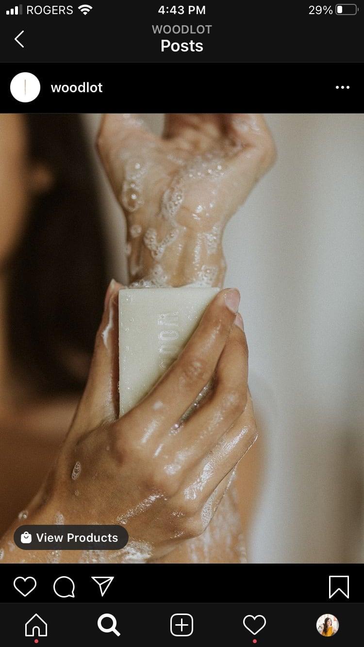 Woodlot essential oil soap