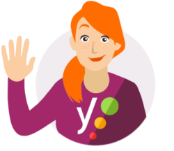 yoast assistant waving