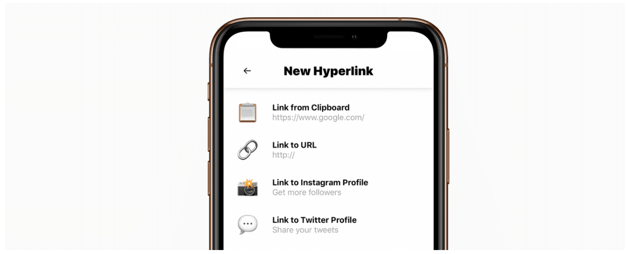 Hyperlink URL shortener