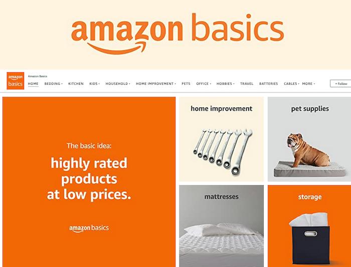 Amazon Storefront - Amazon basics