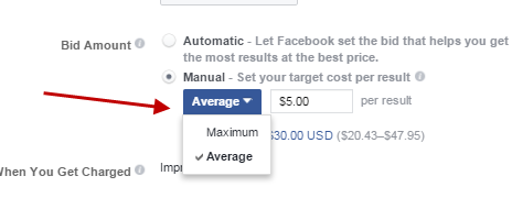 how much do facebook ads cost with manual entry