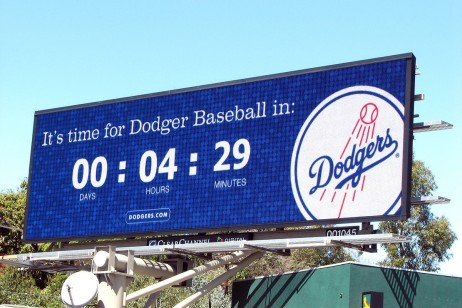 Tips for Successful Out of Home Advertising Campaign - Dodgers billboard