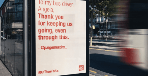 Tips for Successful Out of Home Advertising Campaign - Ad Council billboard