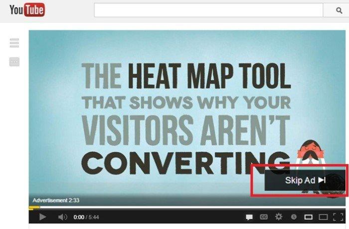 VOD - heat map tool