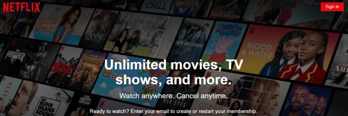 VOD - Netflix