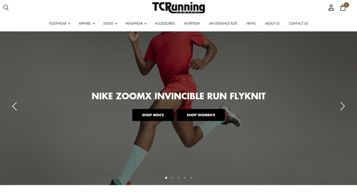 Buy Online, Pick Up In-Store - TC Running