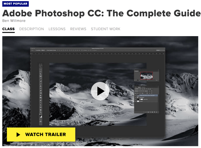 Best Places to Take Photoshop Classes Online - Creative-Live