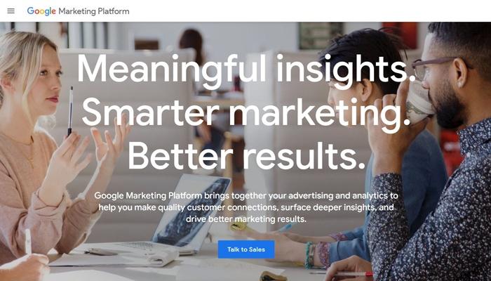 programmatic buying google marketing platform
