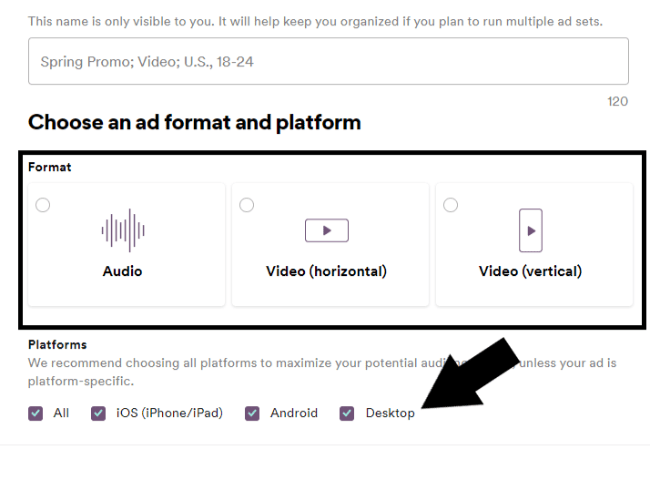choosing your spotify ads platform