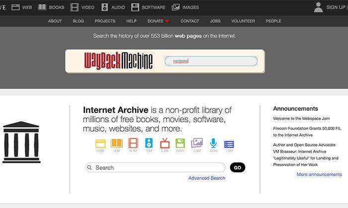 Web Cache Viewer Tools - Use Wayback Machine's Desktop Web Cache Viewer