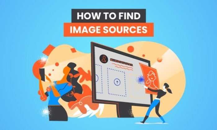 how to find images sources