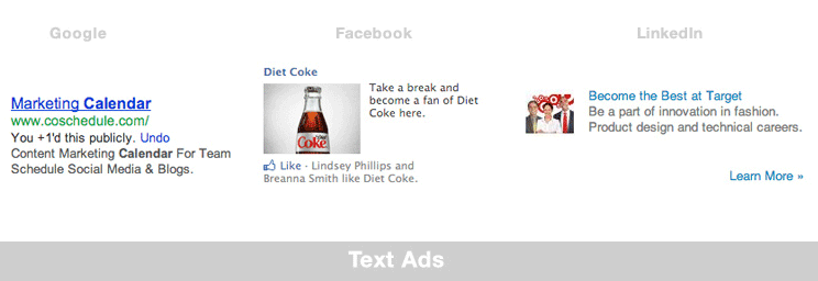 different type of internet ads display ad example
