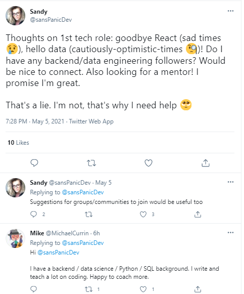 How to Find a Mentor - Use Social Media