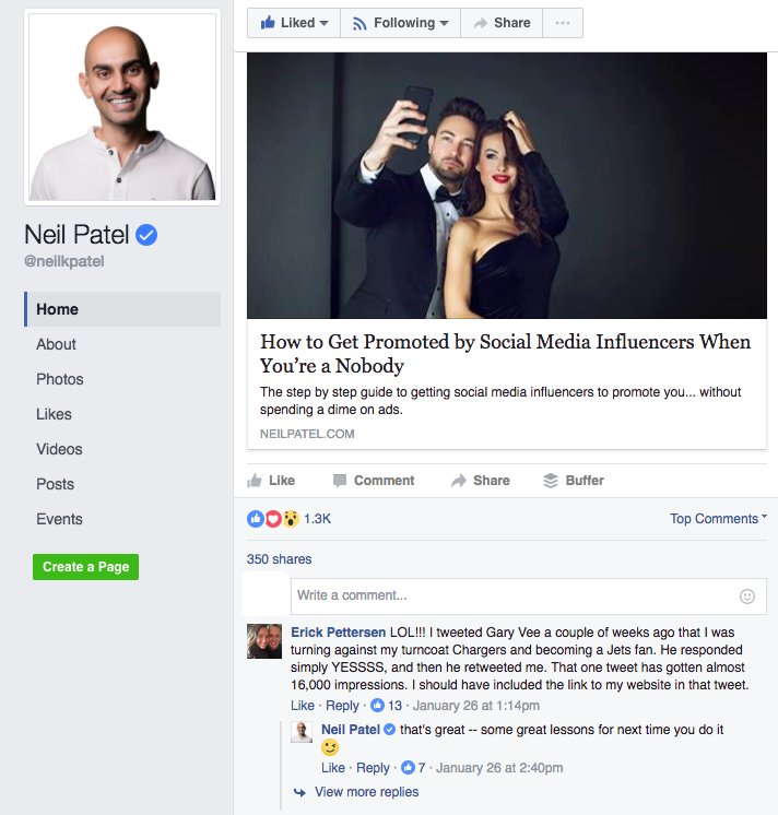 how to become an influencer - respond to comments