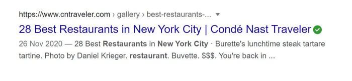 multiple location SEO new york restaurants