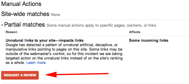 request review disavow guide
