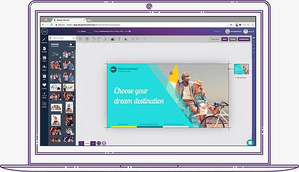 designwizarrd interface