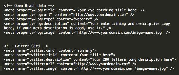 final code screen open graph meta tags conclusion