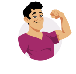 Yoast assistant showing their muscles